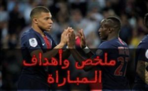 أهداف مباراة ب.س.جيرمان وموناكو في الدوري الفرنسي