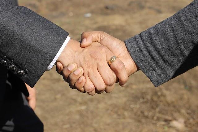 Origin Of Shaking Hands