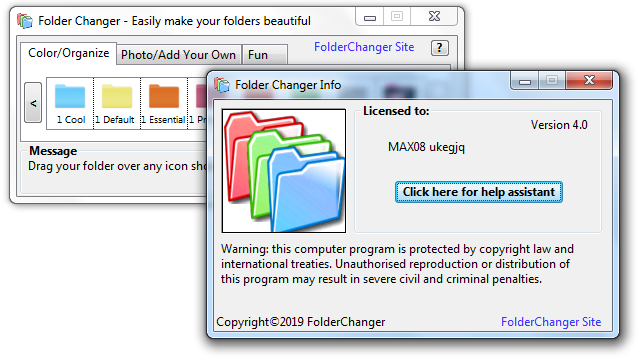Screenshot Folder Changer 4.0 Full Version