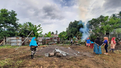 Dukung Program Kampung Hijau Pertamina, Ibu-Ibu Kelurahan Tubo Ternate Utara Semangat Hijaukan dan Berdayakan Daerahnya