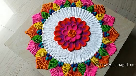 Rangoli latest design