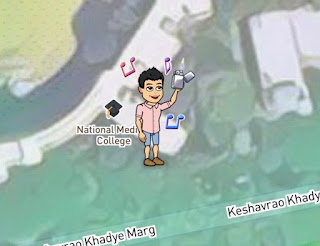 Snap Map Actionmoji Party