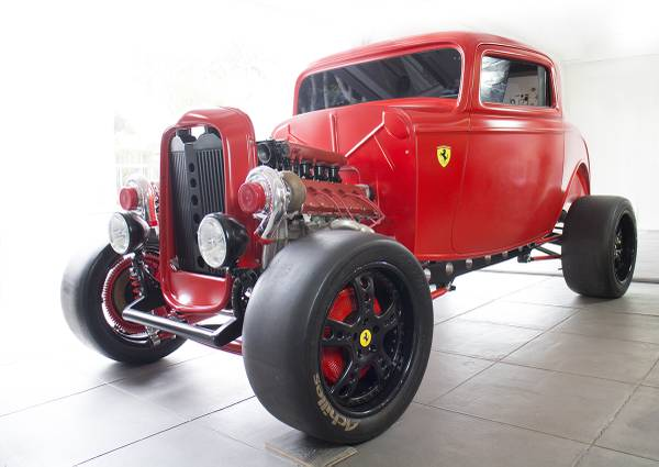 Ferrari Hot Rod