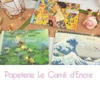 Le Carré d'Encre Paris : la boutique de la papeterie et du timbre
