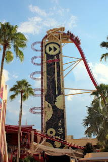 Hollywood Rip Ride Rockit, Universal Studios, Florida