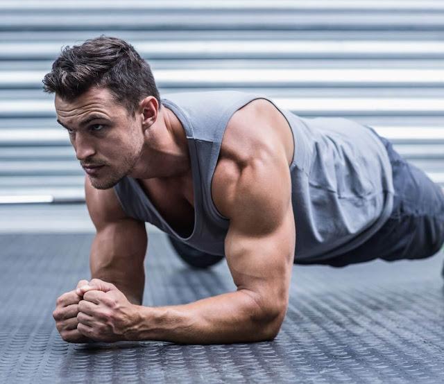 تمارين تضخيم العضلات في المنزل