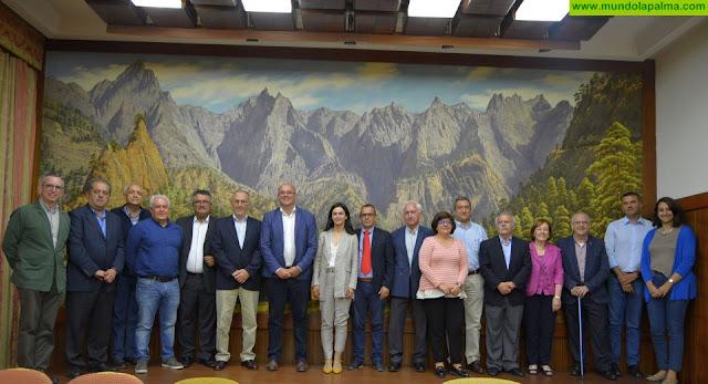 El Cabildo reconoce la labor de la Comisión Insular de Patrimonio Histórico con motivo del 25 aniversario de su creación