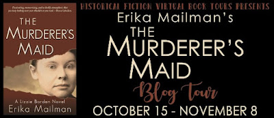 Blog Tour: The Murderer's Maid by Erika Mailman — Spotlight + Giveaway (INTL)