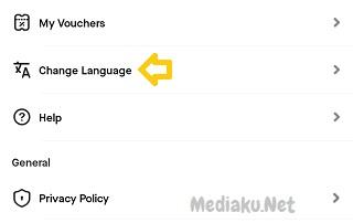 Mengubah Bahasa Indonesia Di Aplikasi Gojek