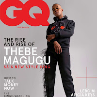 Thebe Magucu para GQ Sudáfrica en fotos de Travys Owen