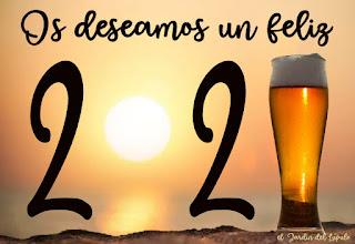 ¡Feliz año 2021, cerveceros!