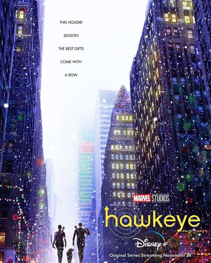 Marvel показала первый трейлер сериала «Соколиный Глаз» про Клинта Бартона - Постер
