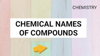 Chemistry Compounds
