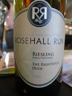 Rosehall Run The Righteous Dude Riesling 2014 - VQA Twenty Mile Bench, Niagara Peninsula, Ontario, Canada (88 pts)