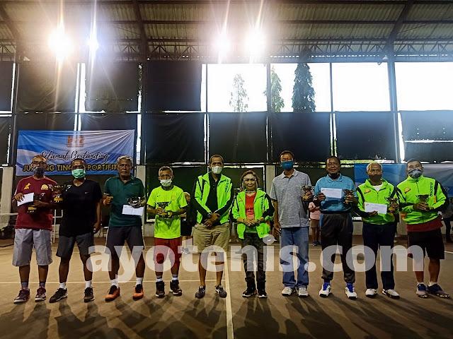 Kusmeidi/Totok Juara Turnamen Tenis Baveti Araya-Sier Surabaya Cup I tahun 2020