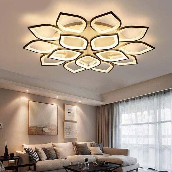 أفكار وتصاميم ديكورات إضاءات الأسقف بالصور