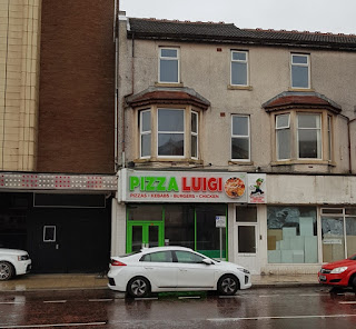 Pizza Luigi takeaway on Dickson Road in Blackpool