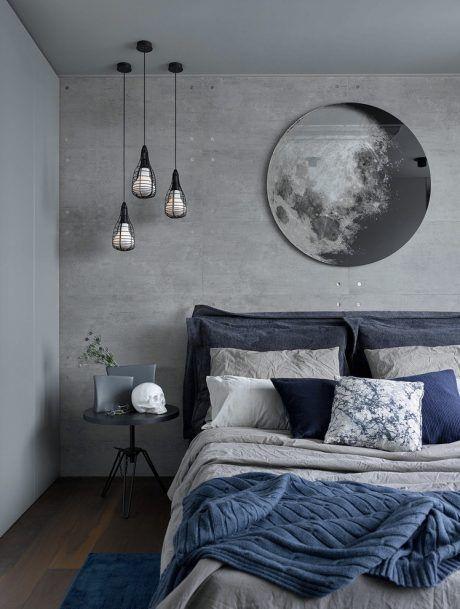 grey bedroom interior design idea to try