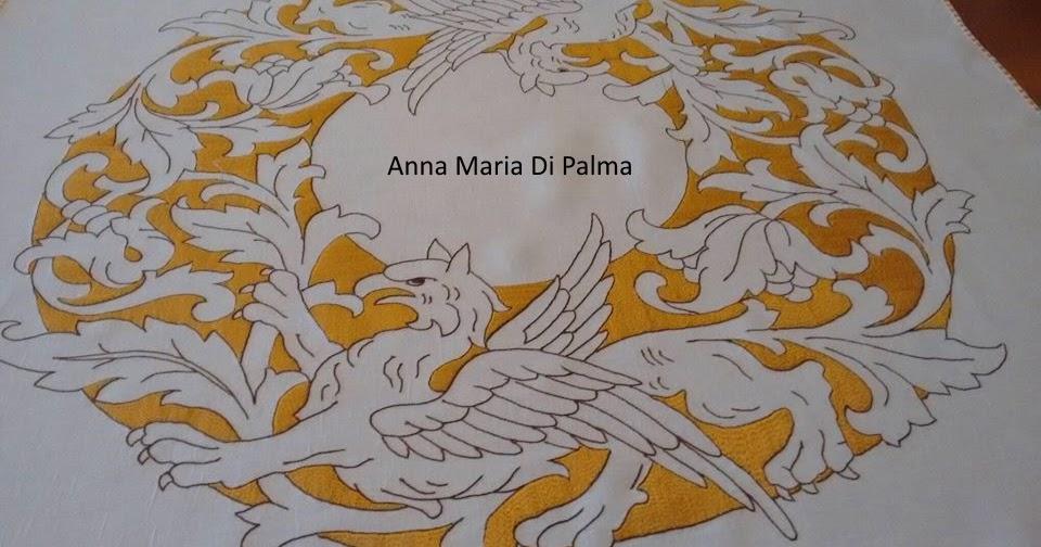 Broderiemonamour di anna maria di palma ricamo prenestino - Colorazione pagine palma domenica ...