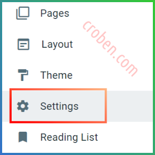 Back Up Contents In Blogger Step 1