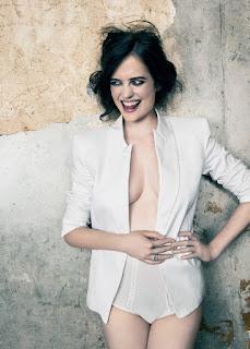 Eva Green White Hot Dress