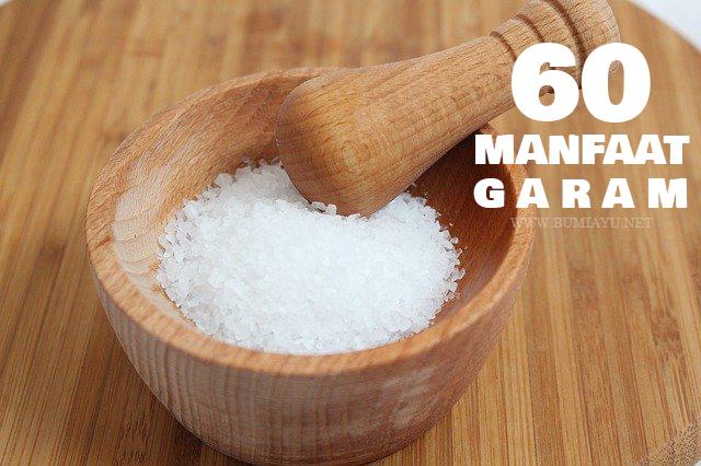 60 Manfaat Penggunaan Garam