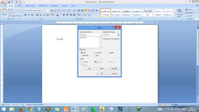 Cara Membuat Dartar Isi Secara Otomatis MS Word