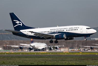 Pilot Pingsan, Pesawat dari Montenegro Menuju Rusia Dialihkan