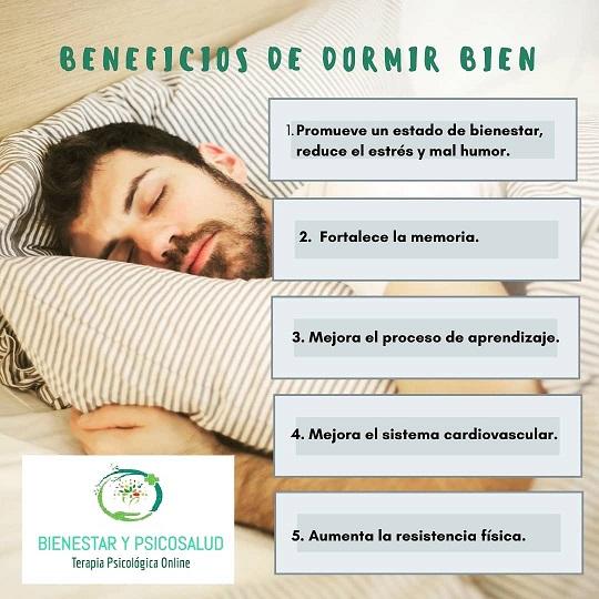 ventajas de un buen sueño
