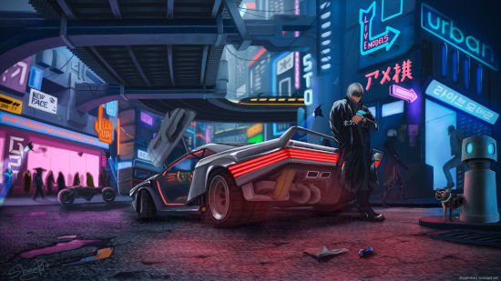 Cyberpunk 2077 - Artwork - Full HD 1080p