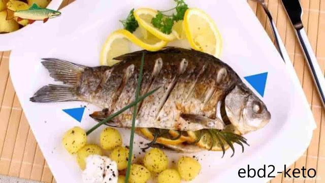السمك من الطعام المسموح في الكيتو
