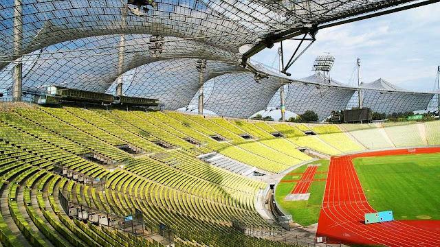 Olympiastadion München Innen