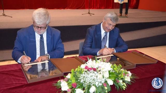 Πρέβεζα: Πράξη την αδελφοποίηση των δύο πόλεων έκαναν χθες οι Δήμαρχοι Πρέβεζας και Τρίπολης
