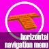 Memasang Menu Navigasi Horizontal di Blog