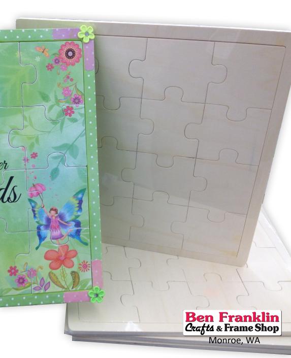 Ben Franklin Crafts and Frame Shop, Monroe, WA: Make Your