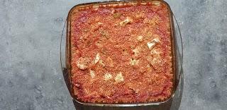 gratin quinoa/chou-fleur végétarien sans gluten