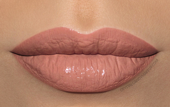 Make Up For Ever Artist Nude Creme Liquid Lipstick MUFE Swatches 01 Uncovered