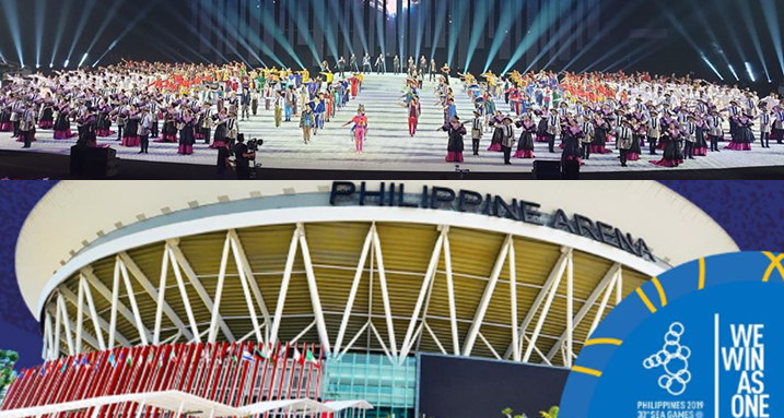 A sneak peek at the SEA Games opening ceremony.