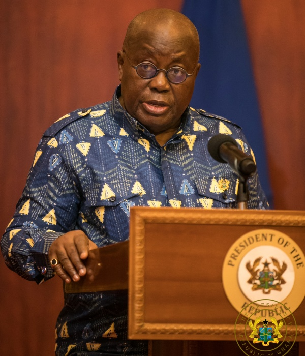 President Akufo-Addo Directs Auditor-General To Take His Accumulated Annual Leave