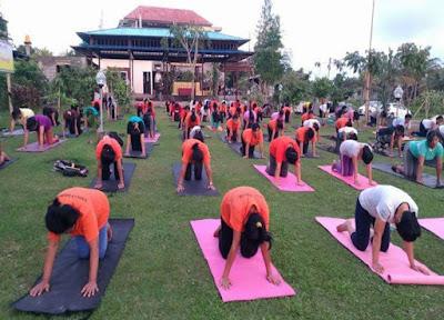 Free yoga Ubud