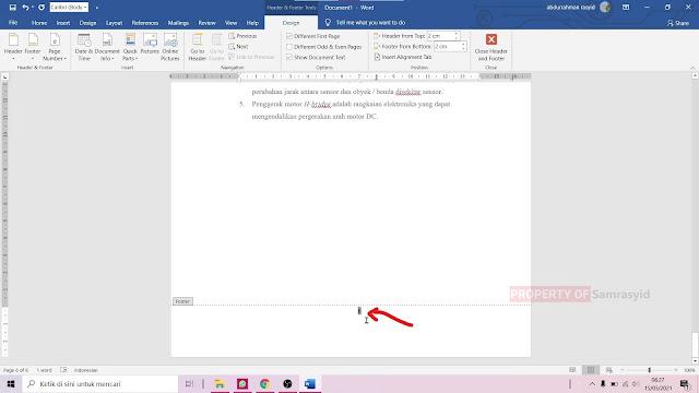 Cara Membuat Letak Halaman Berbeda di Microsoft Word