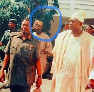 Throwback Photos Of President Buhari And Tinubu With Late Sani Abacha