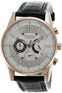 Titan Octane Chronograph Analog