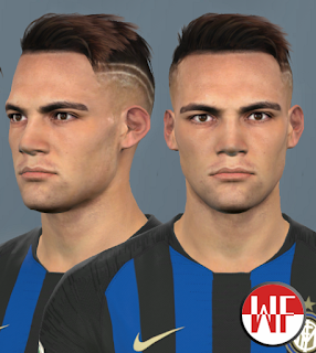 PES 2017 Faces Lautaro Martinez by WER Facemaker