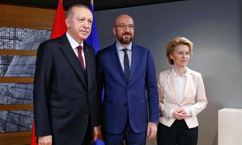 Έφυγε κακήν κακώς ο Ερντογάν από το Ευρωπαϊκό Συμβούλιο - Απέφυγε την συνέντευξη Τύπου
