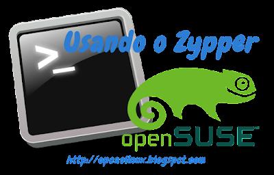 Gerenciando pacotes no openSUSE pelo terminal com o zypper