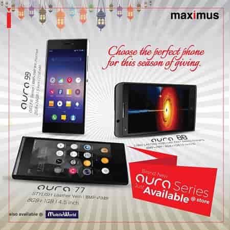 Maximus Aura 88 Smartphone