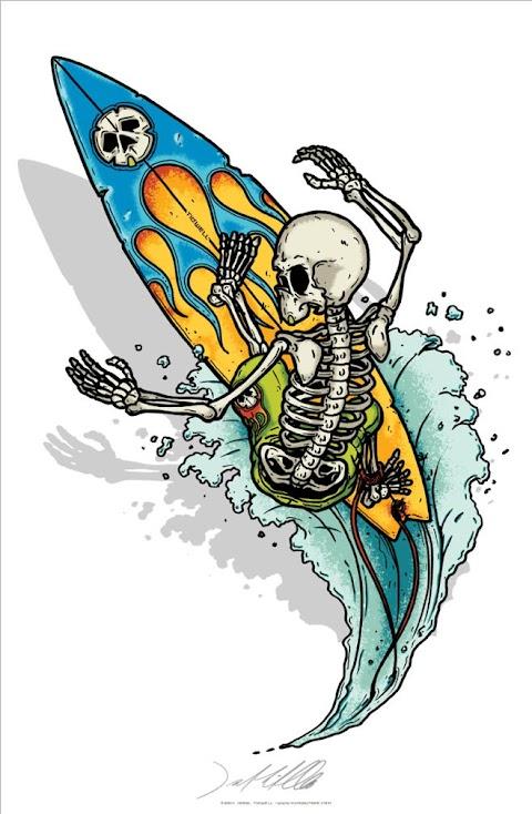 Bộ xương lướt sóng