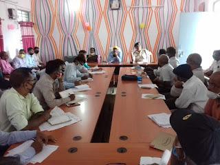 विधानसभा चुनाव को लेकर रजौली विधानसभा के सेक्टर ऑफिसरों की बैठक