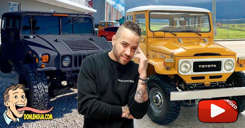 Nacho pone a la venta todos los carros viejos de su colección personal